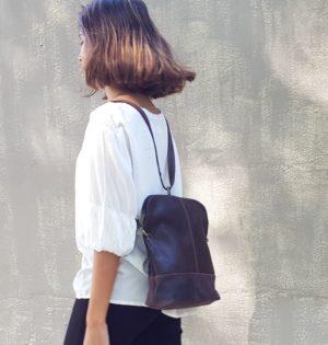 Cala bolso y mochila piel natural Álamo