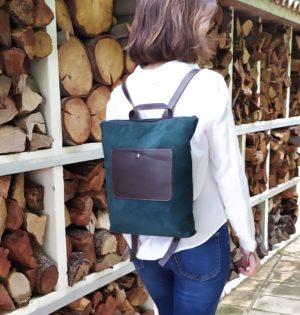 Cala mochila o bolso Lantana de piel hecho en España calaalicante tienda indepeniente