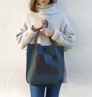 Cala bolso Manzano de piel hecho en España calaalicante tienda independiente