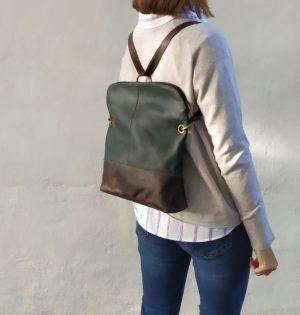 Cala mochila y bolso älamo de piel hecha en España calaalicante tienda independiente regalos