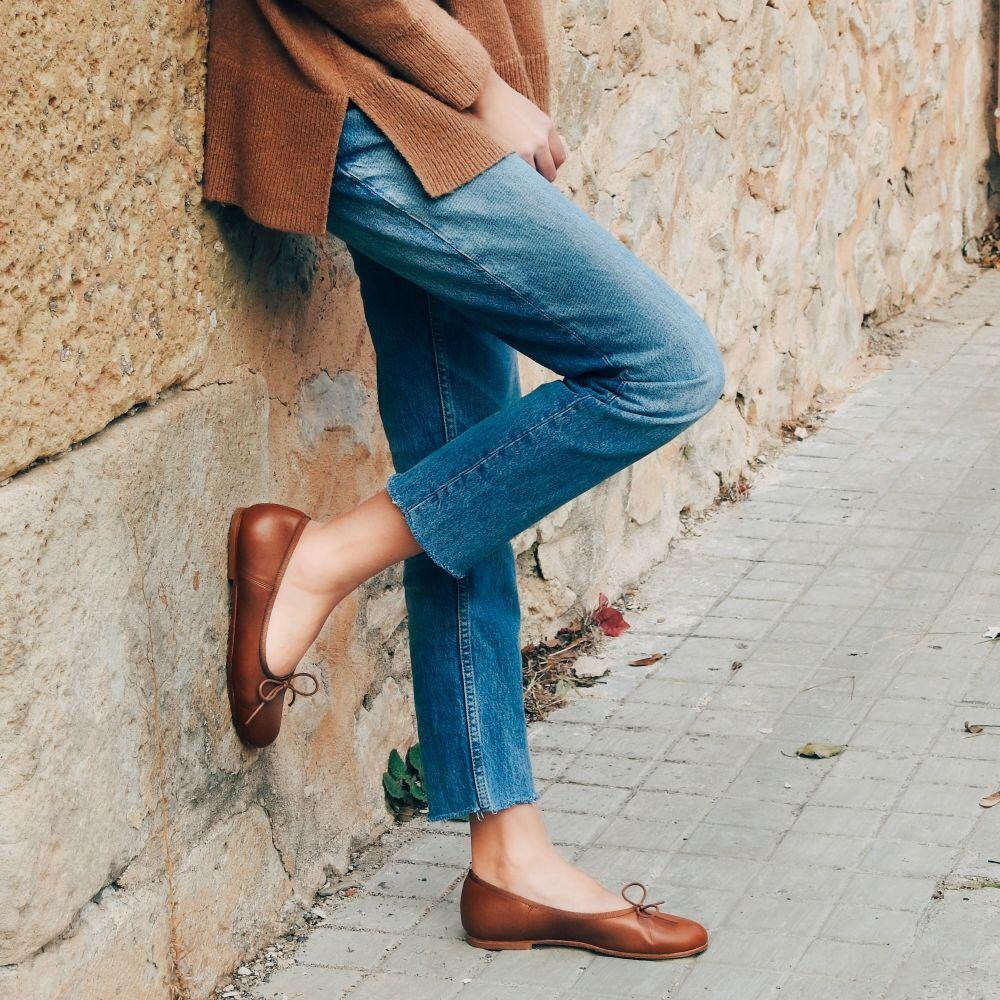 Cala bailarina piel hecha en España Lief calaalicante