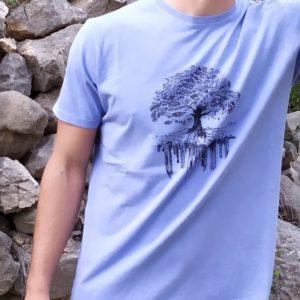 Cala camiseta Ciudad 100% algodón ilustardor español fabricada en España calalicante 30 aniersario