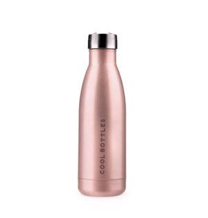 Cala calaalicante botella termo rosa metalizada