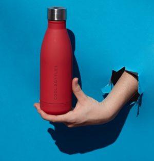 Cala botella termo roja calaalicante tienda i30 aniversario regalosndependiente