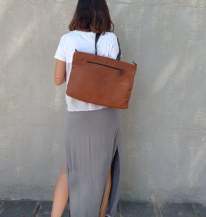 Cala bolso Chopo cuero piel hecho en España calaalicante 30 aniversario