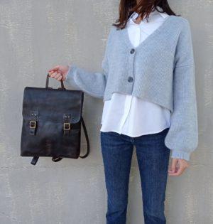Cala mochila Morera calaalicante piel hecha en España