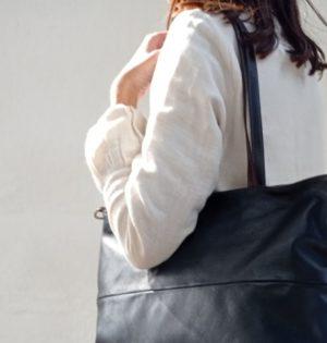 Cala bolso Chopo piel hecho en España calaalicante