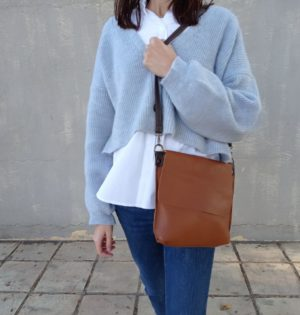 Cala bolso Lluvia piel hecho en España calaalicante caladesde1990