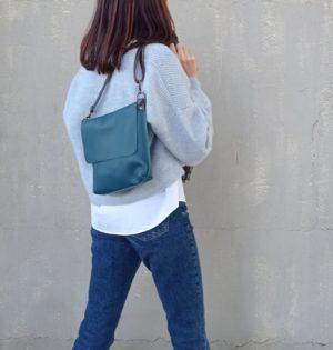 Cala bolso Lluvia piel hecho en España calaalicante tienda independiente