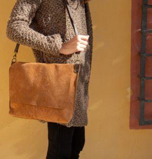Cala bolso Muérdago piel hecho en España calaalicante