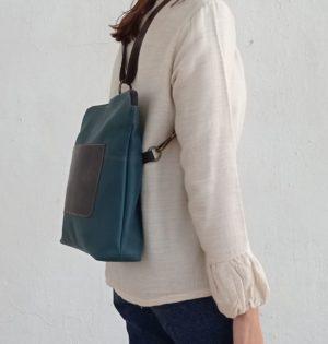 Cala mochila y bolso Jacaranda piel hecho en España calaalicante 30 aniversario