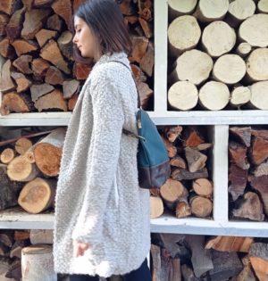 Cala mochila Álamo piel hecho en España calaalicante
