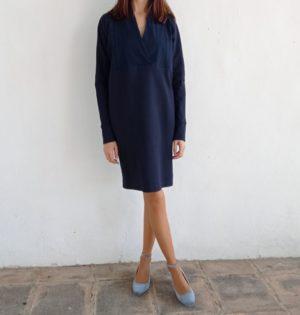 Cala vestido azul calaalicante caladesde1990