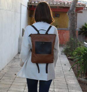 Cala mochila Lantana piel hecha en España calaalicante