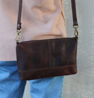 Cala bolso Almendra piel hecho en España calaalicante caladesde1990