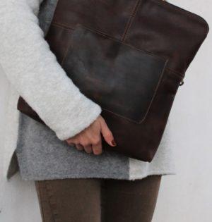 Cala bolso Tamarindo piel hecho en España calaalicante