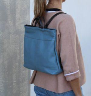 Cala mochila y bolso Sauce de piel hecho en España calaalicante caladesde1990