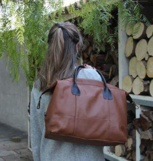 Cala bolso Ficus piel hecho en España calaalicante caladesde1990