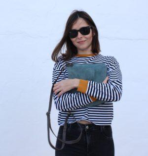 Cala bolso Lluvia de piel hecho en España calaalicante caladesde1990