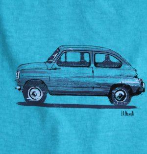 Cala camiseta de chico algodón hecha en España calaalicante caladesde1990