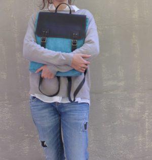 Cala mochila morera de piel hecha en España calaalicante caladesde1990