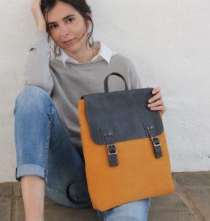 Cala mochila Morera depiel hecha en España calaalicante caladesde1990