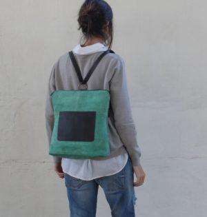 Cala mochila y bolso de piel hecho en España calaalicante caladesde1990