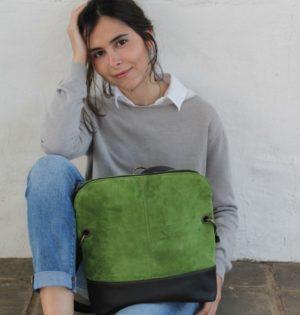 Cala mochila y bolso Álamo de piel hecha en España calaalicante caladesde1990
