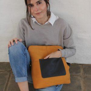 Cala mochila y bolso Jacaranda de piel hecha en España calaalicante caladesde1990