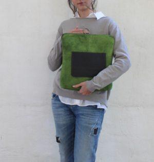 Cala mochila y bolso Jacaranda de piel hecho en España calaalicante caladesde1990