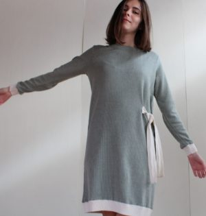 Cala vestido lazada calaalicante diseño español caladesde1990