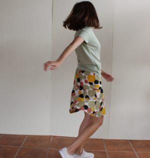 Cala falda círculos calaalicante diseño español caladesde1990