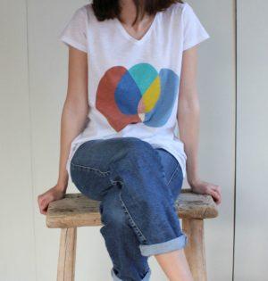 Cala camiseta dibujo de colores calaalicante diseño español caladesde1990 nueva temporada