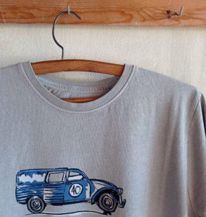 Cala camiseta de chico Dyane cemento hecha en España calaalicante caladesde1990