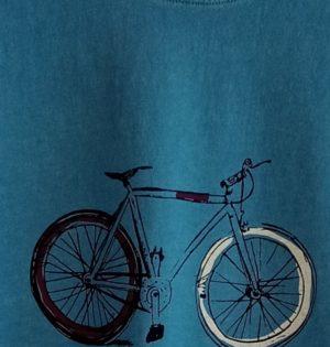 Cala camiseta bici custo Egeo de algodón hecho en España calaalicante caladesde1990Cala