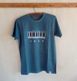 Cala camiseta piano egeo de chico 100% algodón hecho en España calaalicante caladesde1990