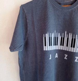 Cala camiseta Jazz hecha en España calaalicante caladesde1990