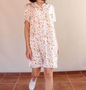 Cala vestido manga corta Golondrinas calaalicante caladesde1990